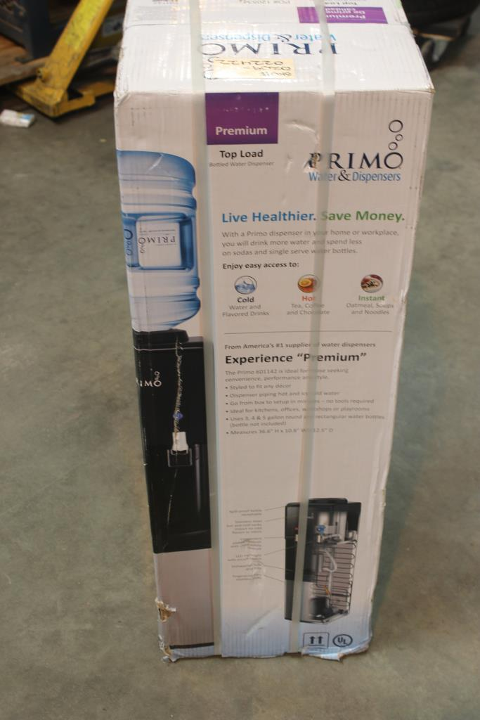Primo Premium Top Load Bottled Water Dispenser Model