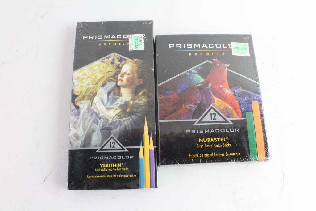Prismacolor Premier 12 piece Nupastel Firm Pastel Color Sticks NEW