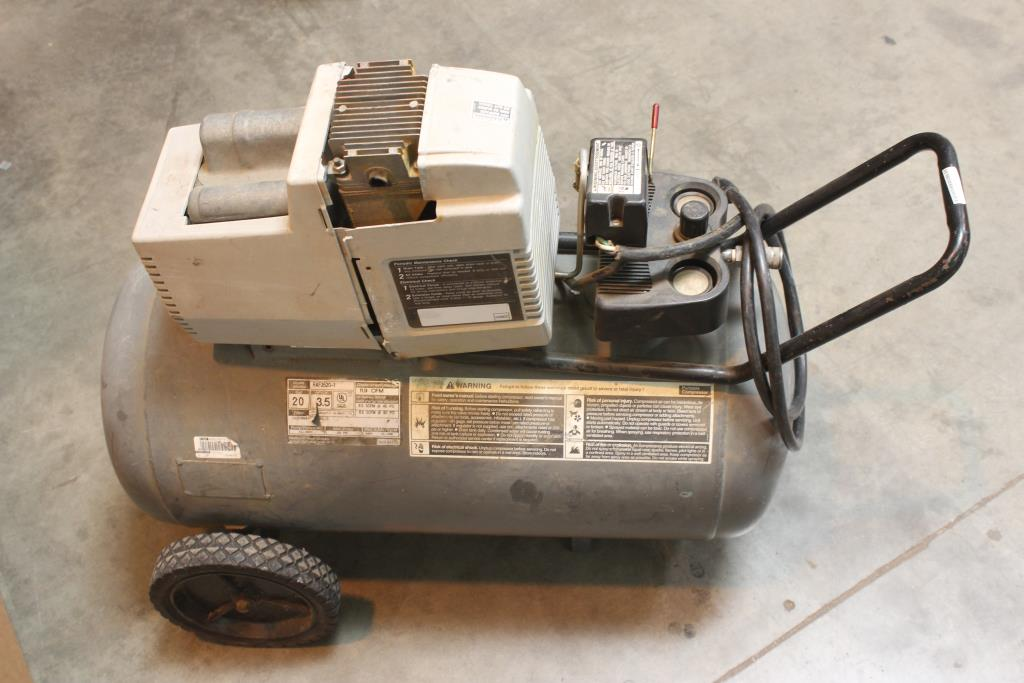 Pro 4000 Devilbiss Air Power Co Raf3520 1 Air Compressor