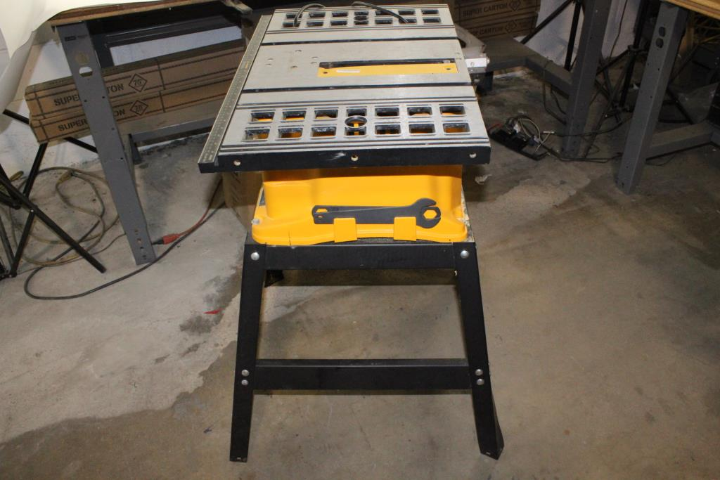 Pro Tech 10 Bench Saw Property Room