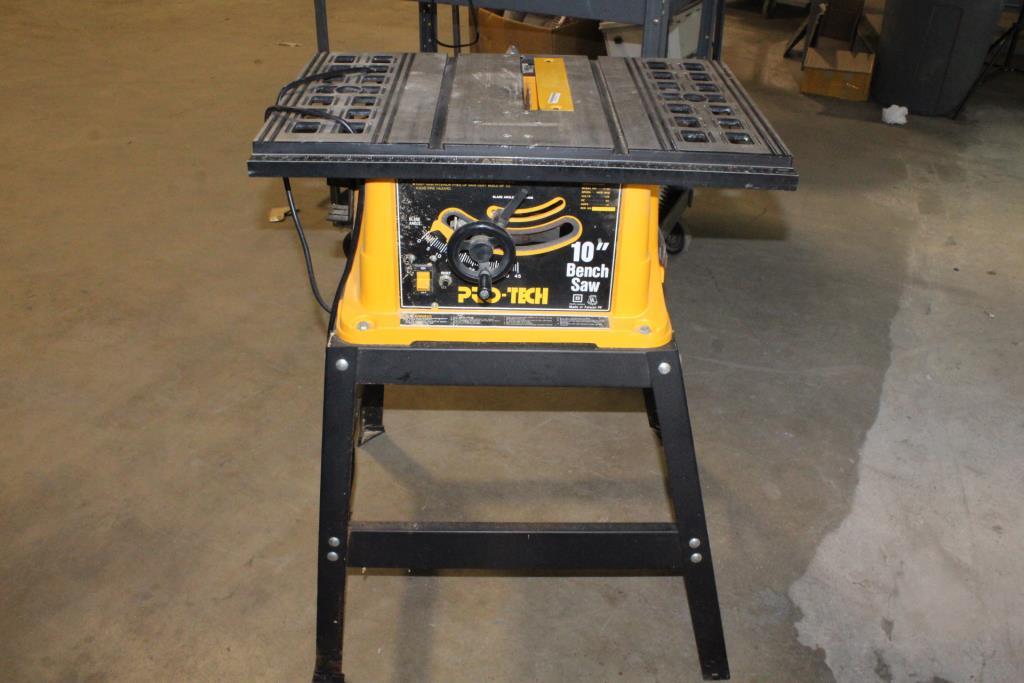 Pleasing Pro Tech 10 Bench Saw Property Room Machost Co Dining Chair Design Ideas Machostcouk