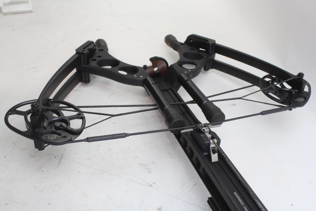 PSE Archery TAC 15 Crossbow With Bag, Scope, Arrows, Crank