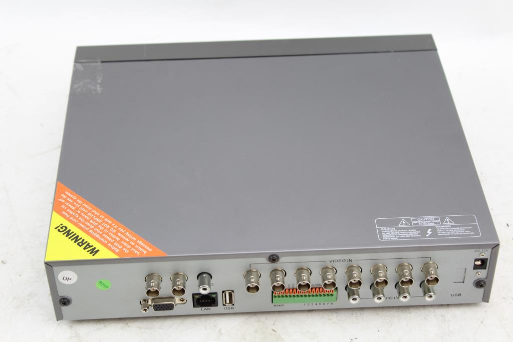 Q-See 8 Channel DVR | Property Room