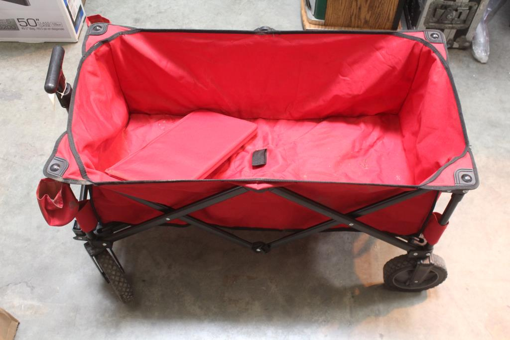 quest collapsible red wagon property room property room