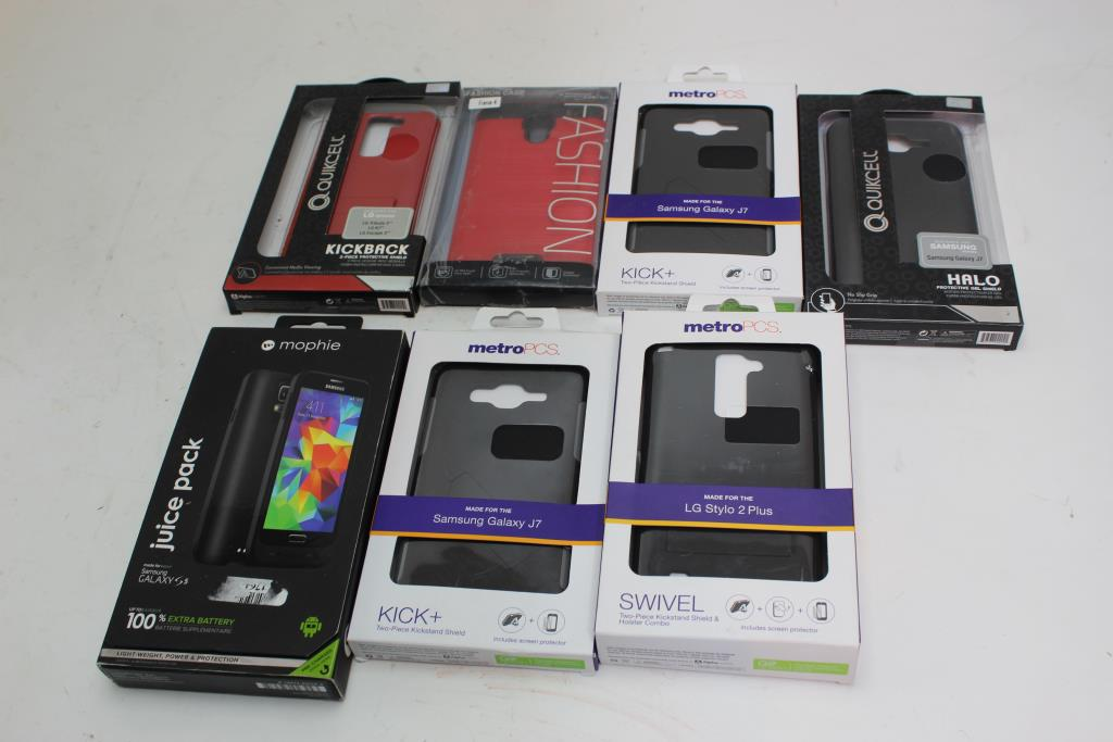 low priced b9308 cf05d Quickcell, Mophie, Fashion, Assorted Phone Cases 7 Pieces | Property ...