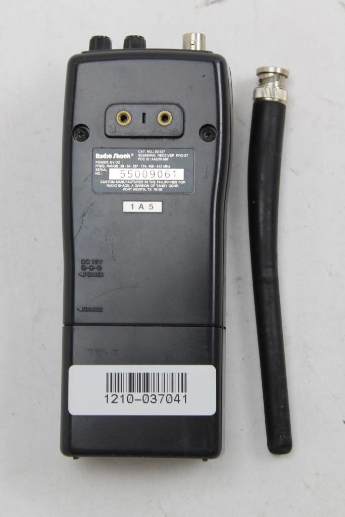 Radio Shack PRO-27 20 Channels Radio Scanner | Property Room