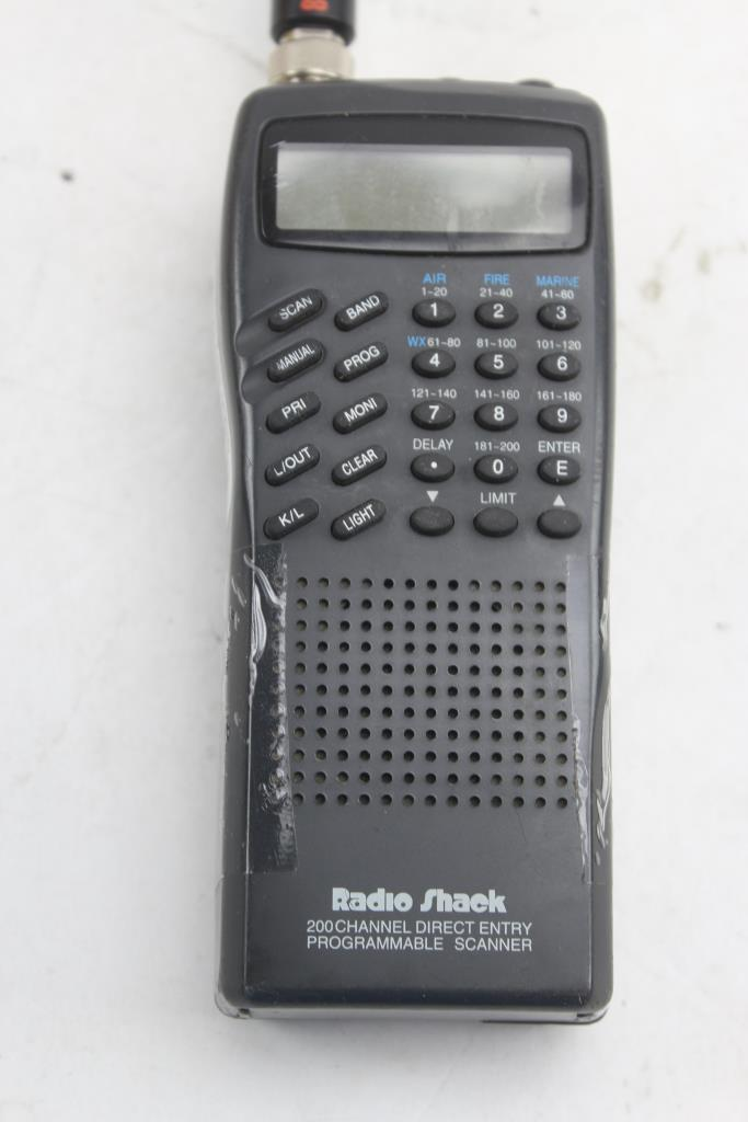 Radioshack Pro 51 200 Channel Programmable Scanner