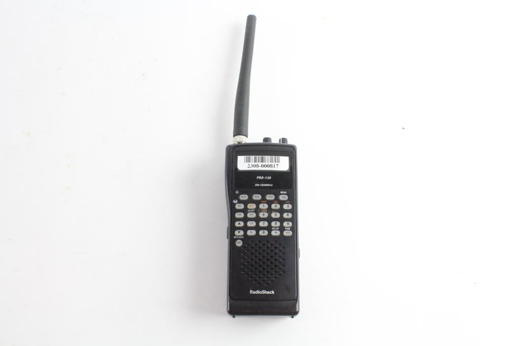 RadioShack Scanner | Property Room