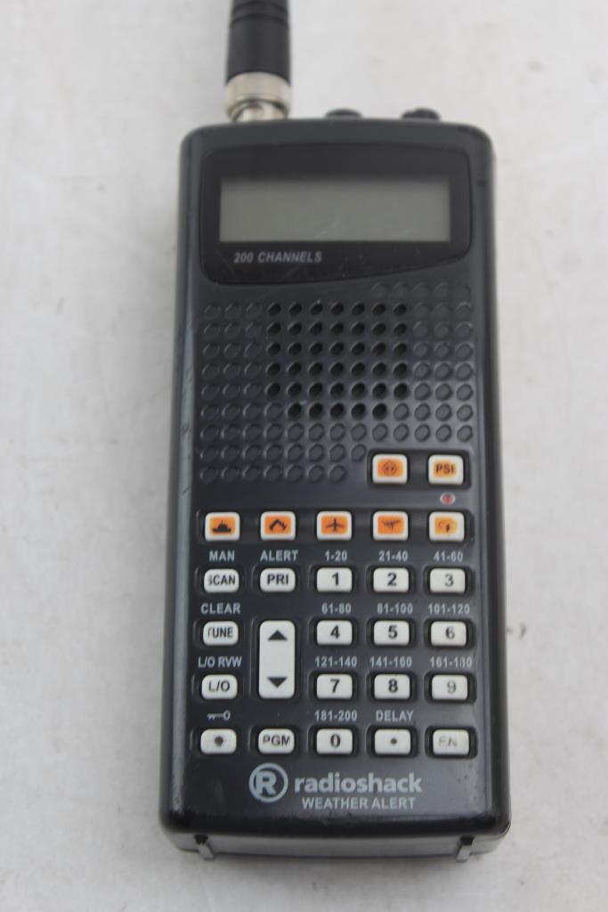 Radioshack Weather Alert Pro 649 Handheld Radio Scanner