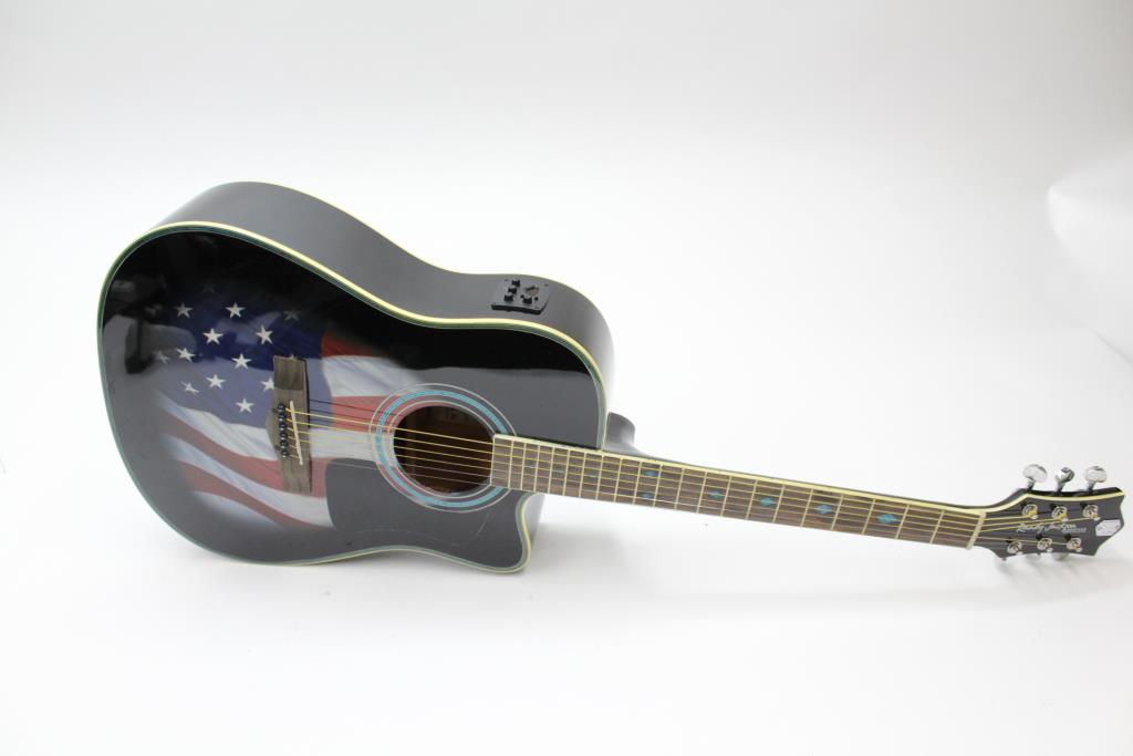 randy jackson american tribute collection acoustic guitar 2013 property room. Black Bedroom Furniture Sets. Home Design Ideas