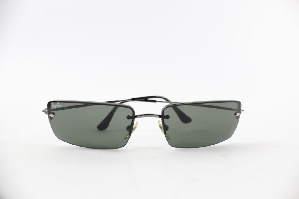 12a0a082ad Image 1 of 2. Ray-Ban Rimless Rectangle Sunglasses