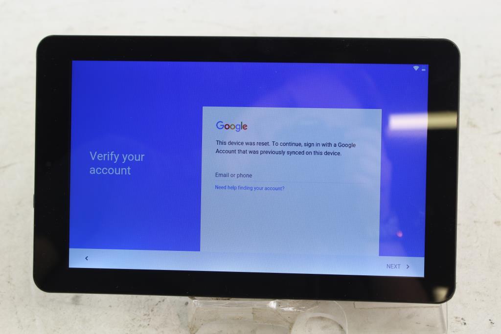 RCA 11 Galileo Pro, 32GB, Wi-Fi Only, Google Account Locked, Sold