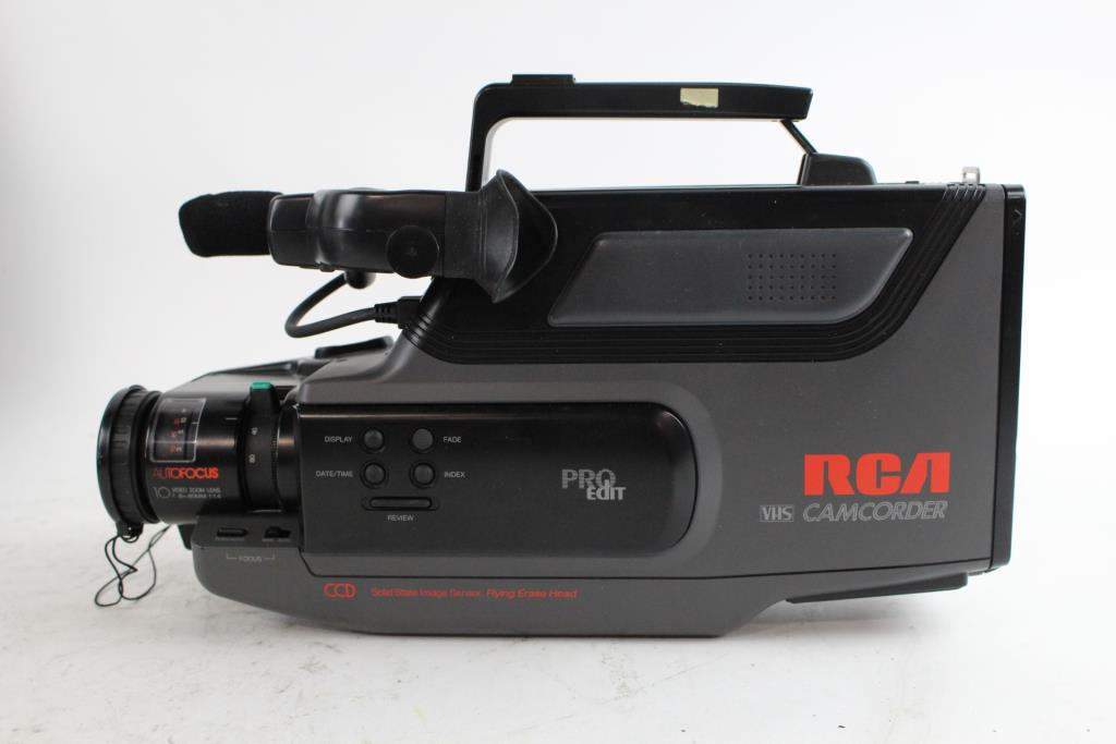 Rca Vhs Camcorder  And Canon Printer  2 Pieces