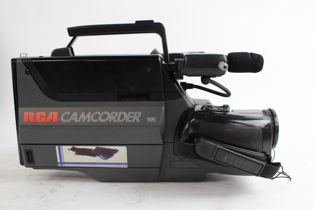 Rca Vhs Camcorder And Canon Printer 2 Pieces Property Room
