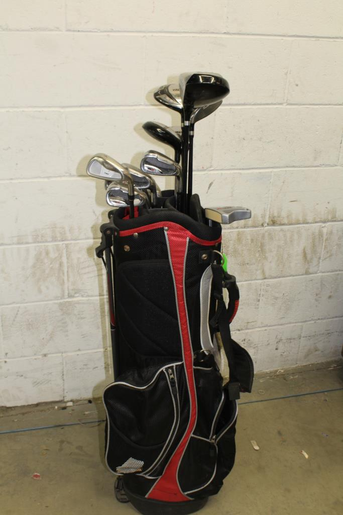 Rcx Golf Bag With Clubs 14 Pieces