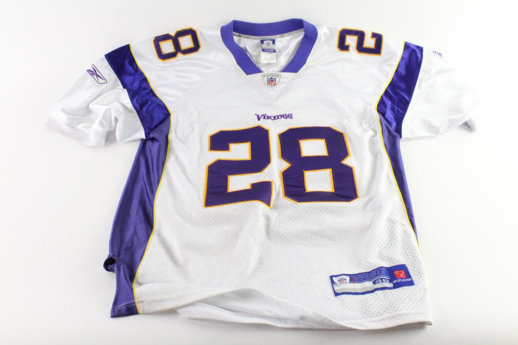 buy online 39c07 45f2a Reebok Minnesota Vikings Adrian Peterson Jersey, Size 48 ...