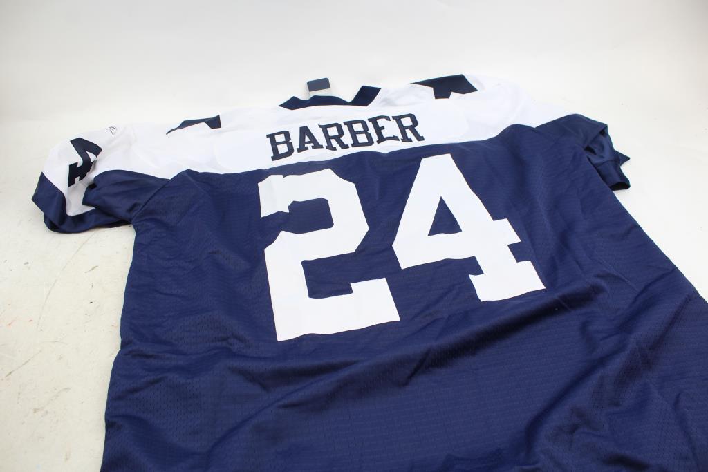 big sale 18177 b0513 Reebok Nfl Vintage Dallas Cowboys Barber #24 Football Jersey ...