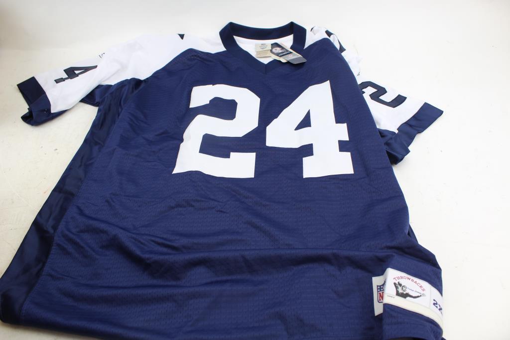 abb0f268f57 Reebok Nfl Vintage Dallas Cowboys Barber #24 Football Jersey ...