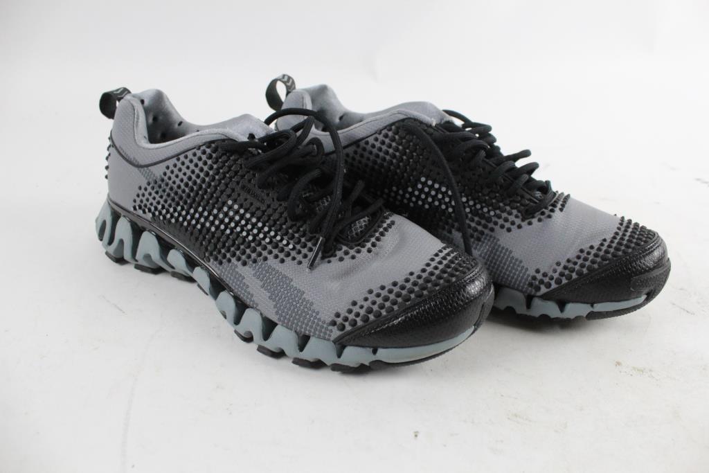 Reebok Trial Zig Tech Sneakers, 10.5   Property Room
