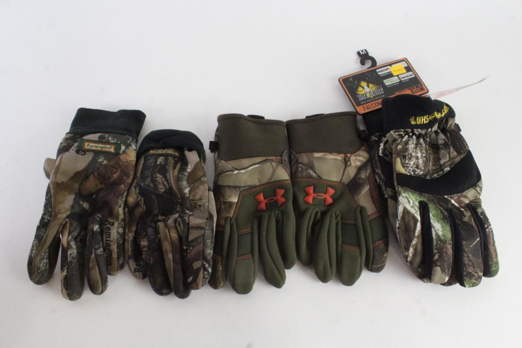 Remington And Other Mens Gloves 8 Pairs Property Room