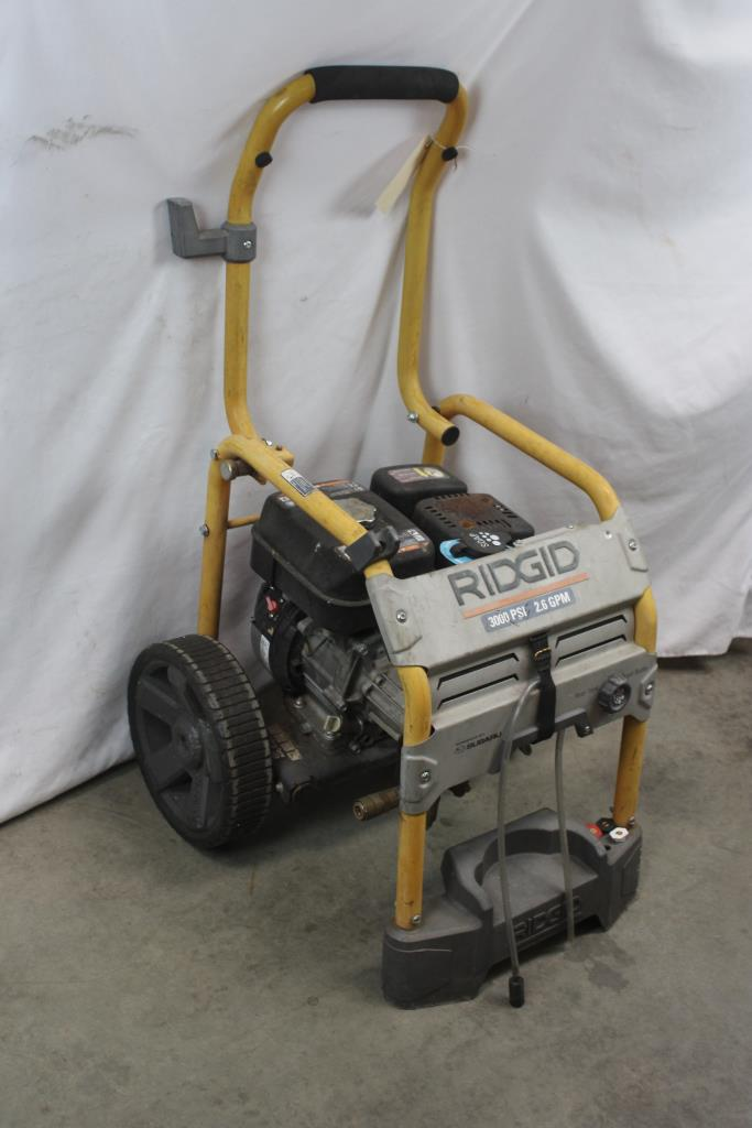 Ridgid Rd80746 Pressure Washer Property Room