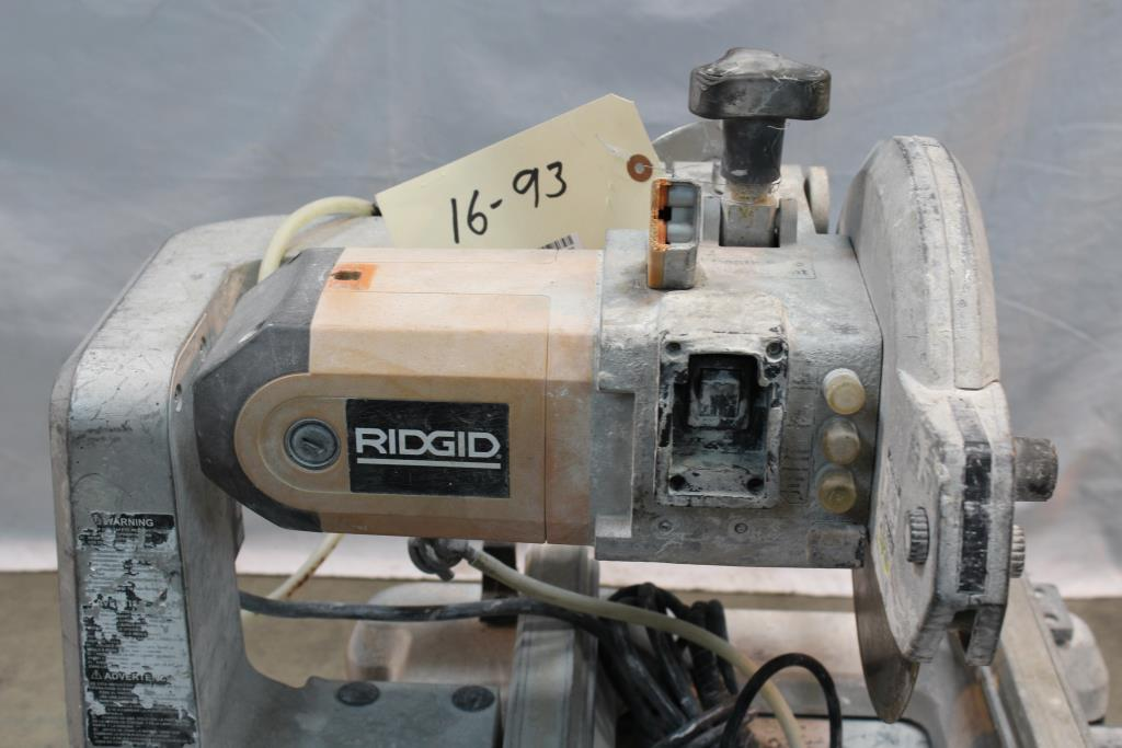 Ridgid Wts2000l Tile Wet Saw Property Room