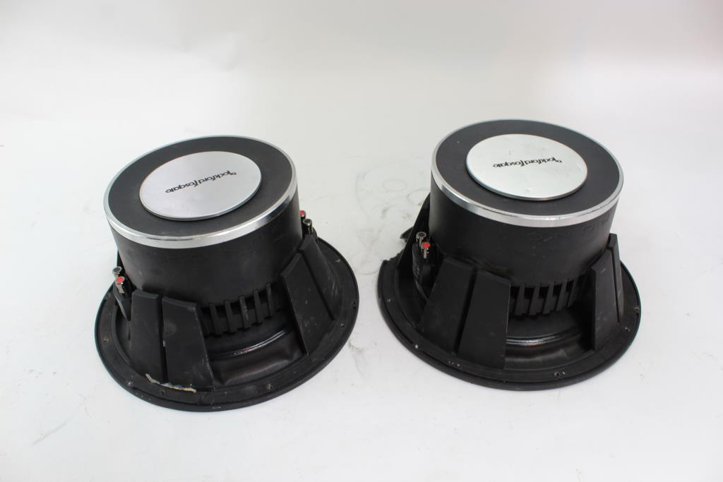 Rockford Fosgate P3 Subwoofers, 2 Pieces | Property Room