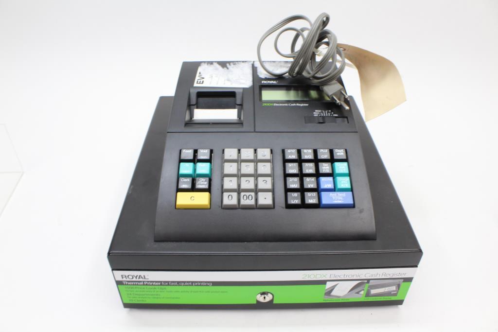Royal 210DX Electronic Cash Register | Property Room