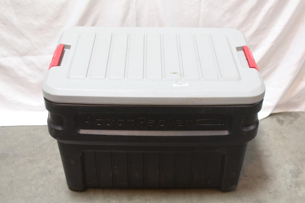 Rubbermaid Action Packer Storage Box & Rubbermaid Action Packer Storage Box   Property Room
