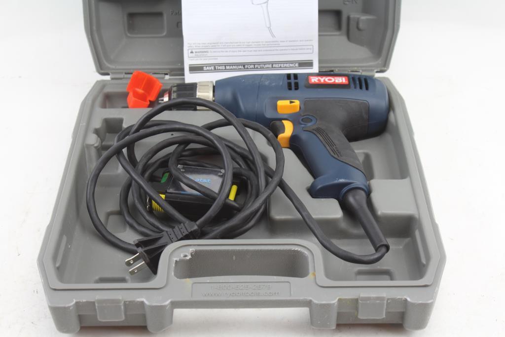 ryobi d41 power drill property room rh propertyroom com Ryobi Router Table Manual Ryobi Gas Blower Manual