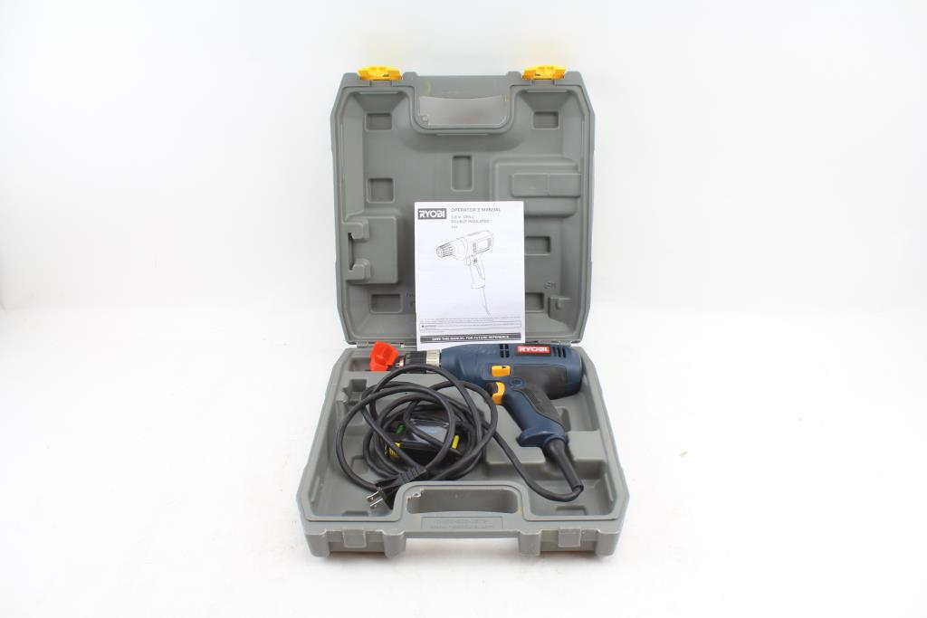 ryobi d41 power drill property room rh propertyroom com Ryobi Quick Turn Manual Ryobi Router Table Manual