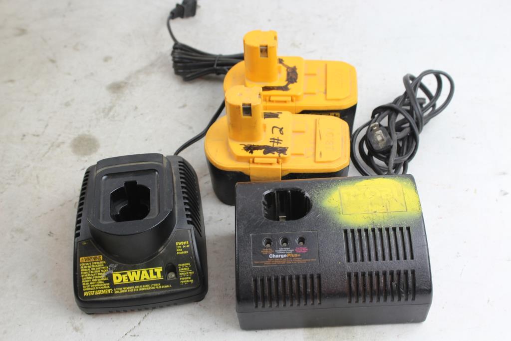 Ryobi One+ 18V Batteries, Ryobi P110, DeWat Dw9118 Battery