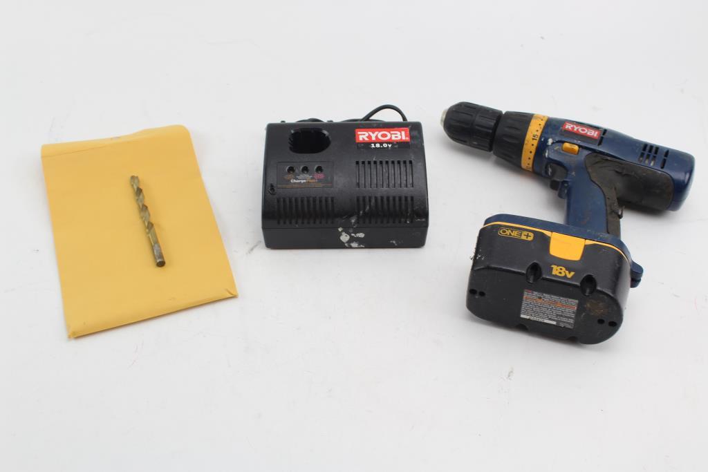 Ryobi P206 18V Cordless Drill/Driver | Property Room