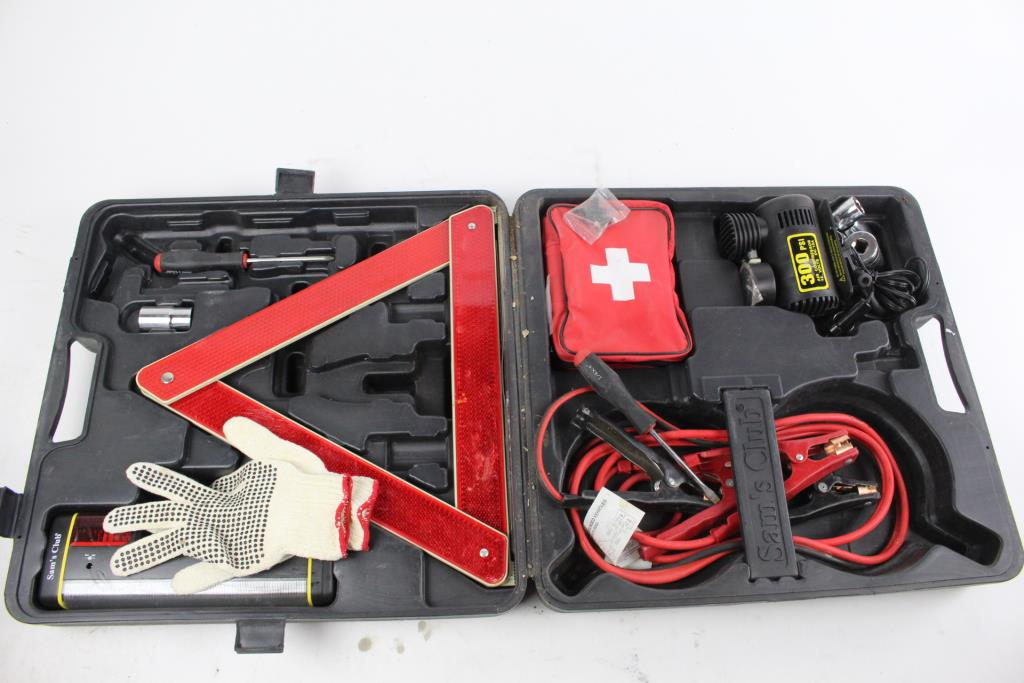 Sam S Club Emergency Roadside Kit
