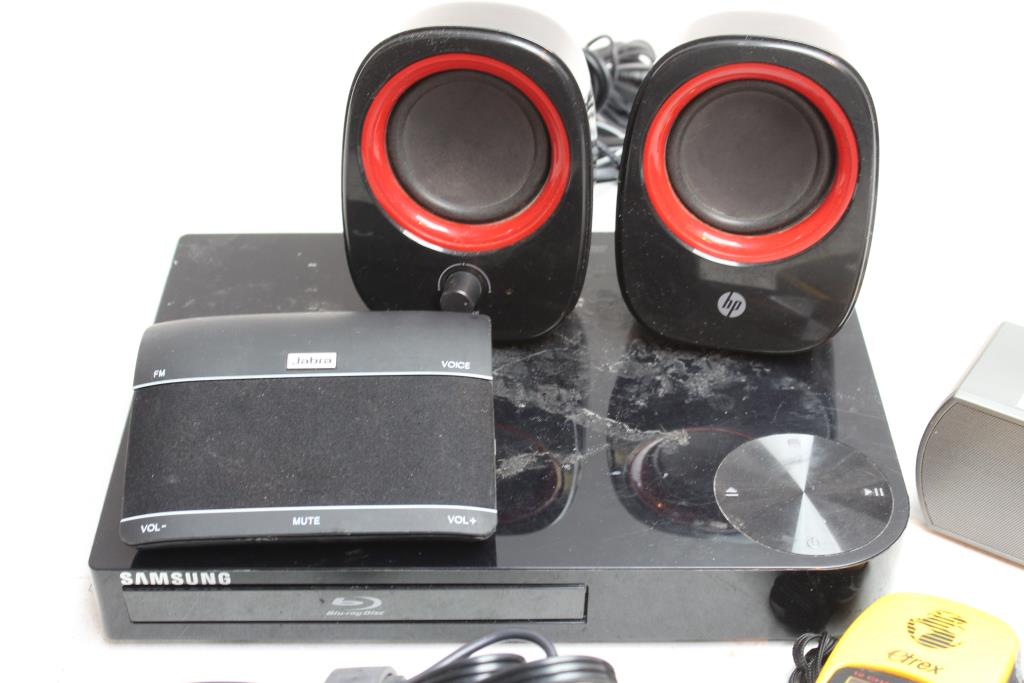 Samsung Blu-ray Disc Player, SOG Portable Speaker And More