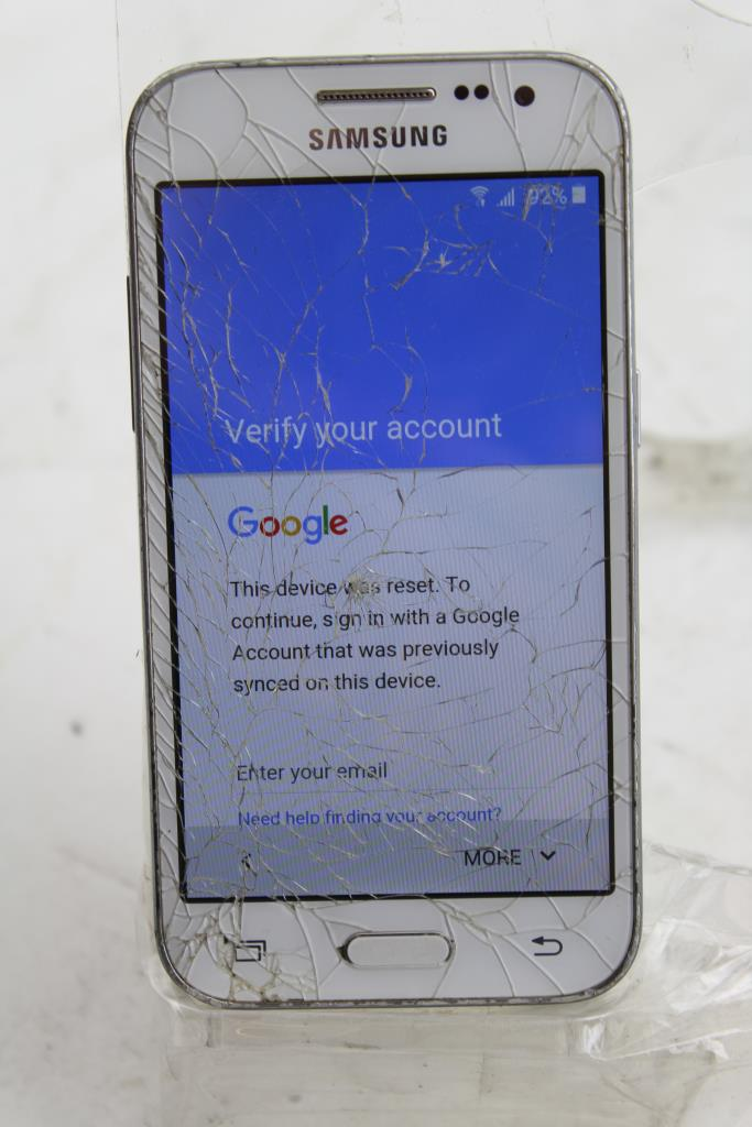 Samsung Galaxy Core Prime, MetroPCS, Google Account Locked, Sold For