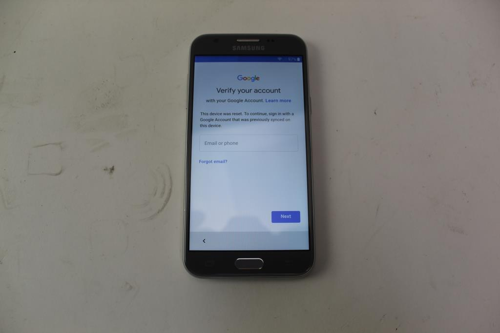Samsung Galaxy J3 Emerge, 16GB, Boost Mobile, Google Account