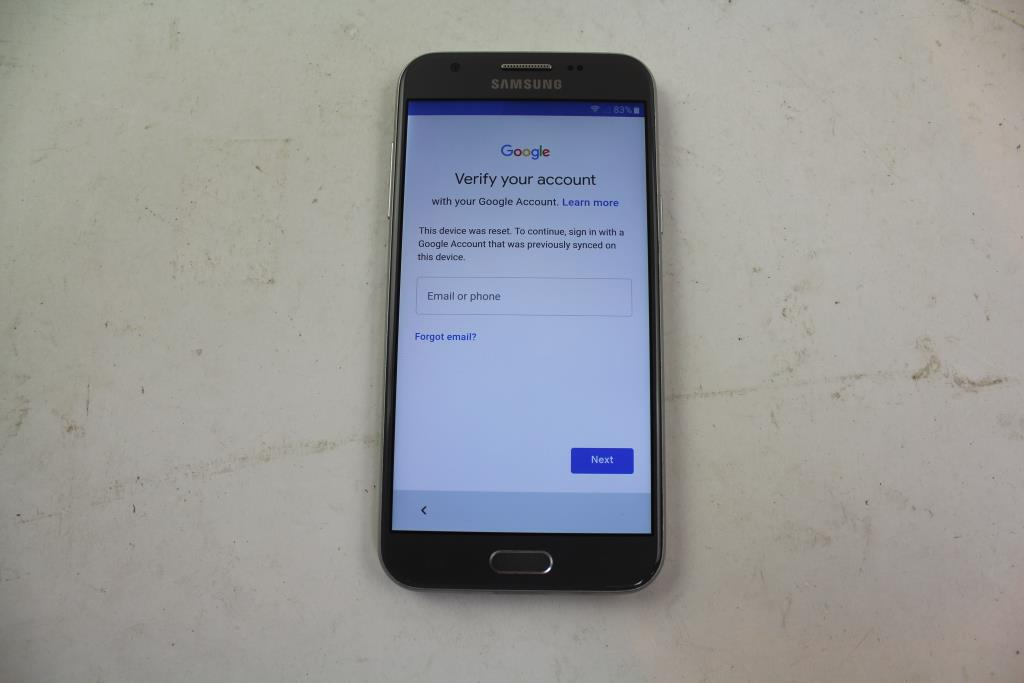 Samsung Galaxy J3 Emerge, 16GB, Boost Mobile, Google Account Locked