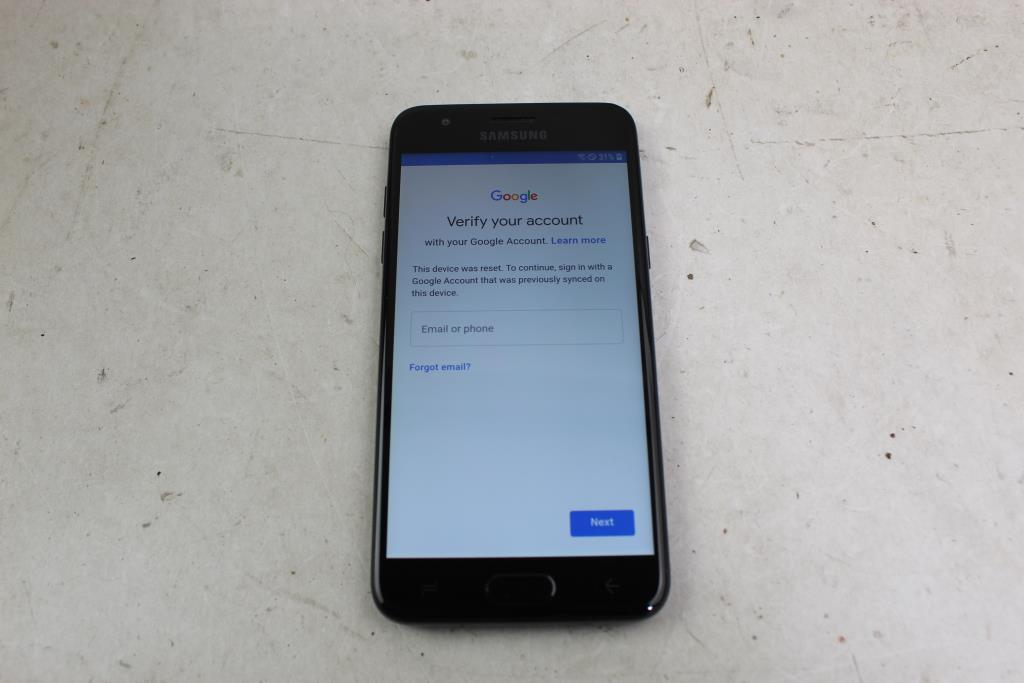 Samsung Galaxy J3 Orbit, 16GB, TracFone Wireless, Google