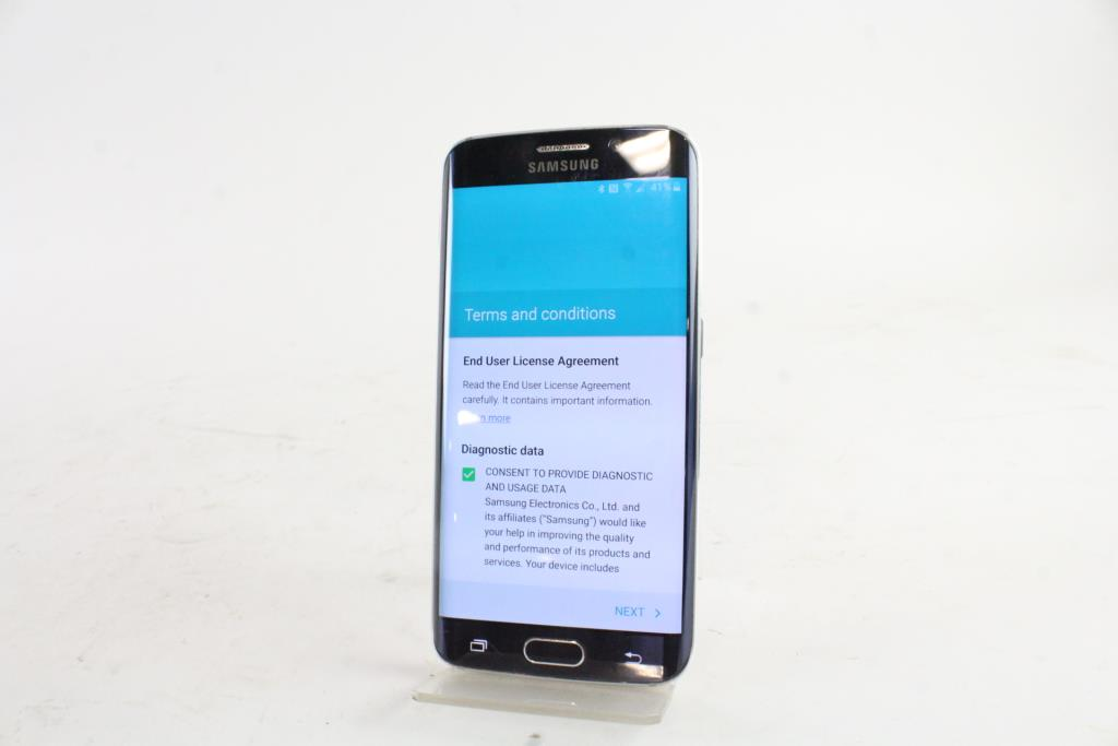 Samsung Galaxy S6 Edge Google Account Locked Sold For Parts