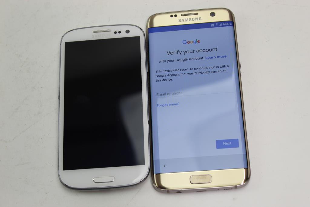 Samsung Galaxy S7 Edge, 32GB, T-Mobile, Google Account