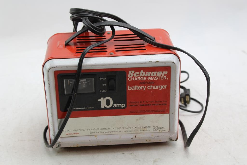 Schauer Charge Master Solid State Battery Charger