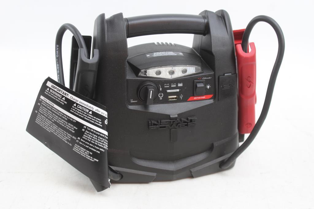 Schumacher Car Battery Jump Starter Booster 600 Amp Work