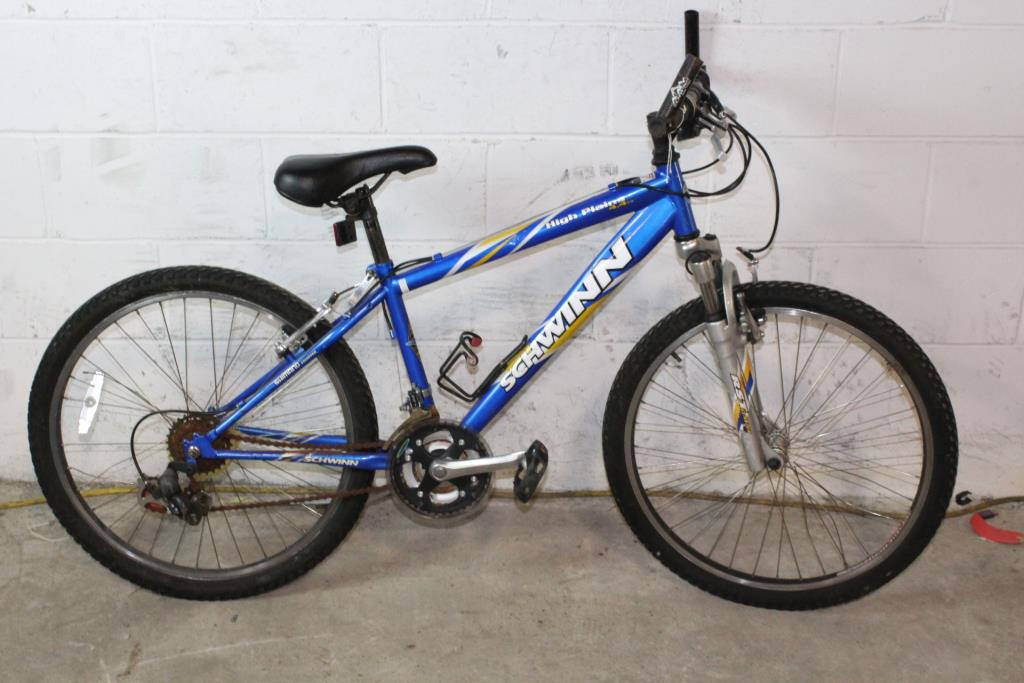 0c0dadda980 Schwinn High Plains 4.4FS Mountain Bike   Property Room