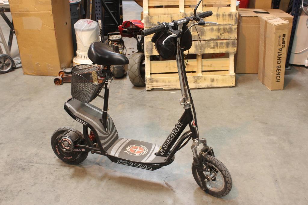 schwinn quality missile fs motorized electric scooter xyd 6b rh propertyroom com Schwinn Electric Scooter Wiring Diagram Schwinn Electric Scooter Wiring Diagram