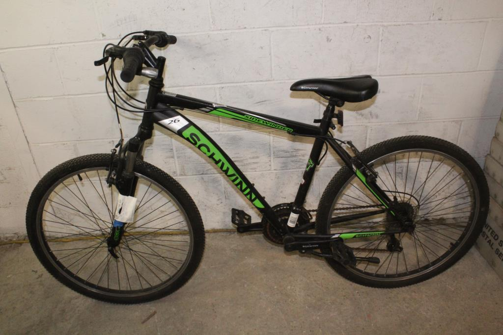 Schwinn Sidewinder 26 Mountain Bike   Property Room