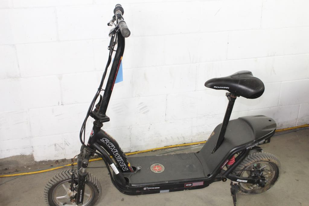 schwinn stealth s1000 electric scooter property room