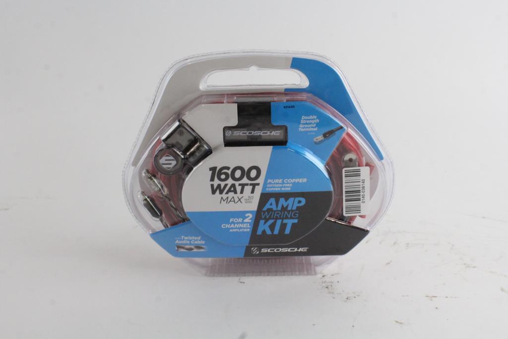 Superb Scosche 1600 Watt 5 Awg Amp Wiring Kit Property Room Wiring Database Obenzyuccorg