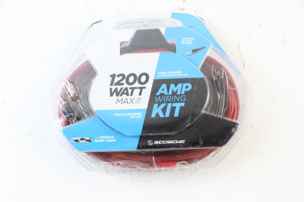 Scosche Amp Wiring Kit   Property Room