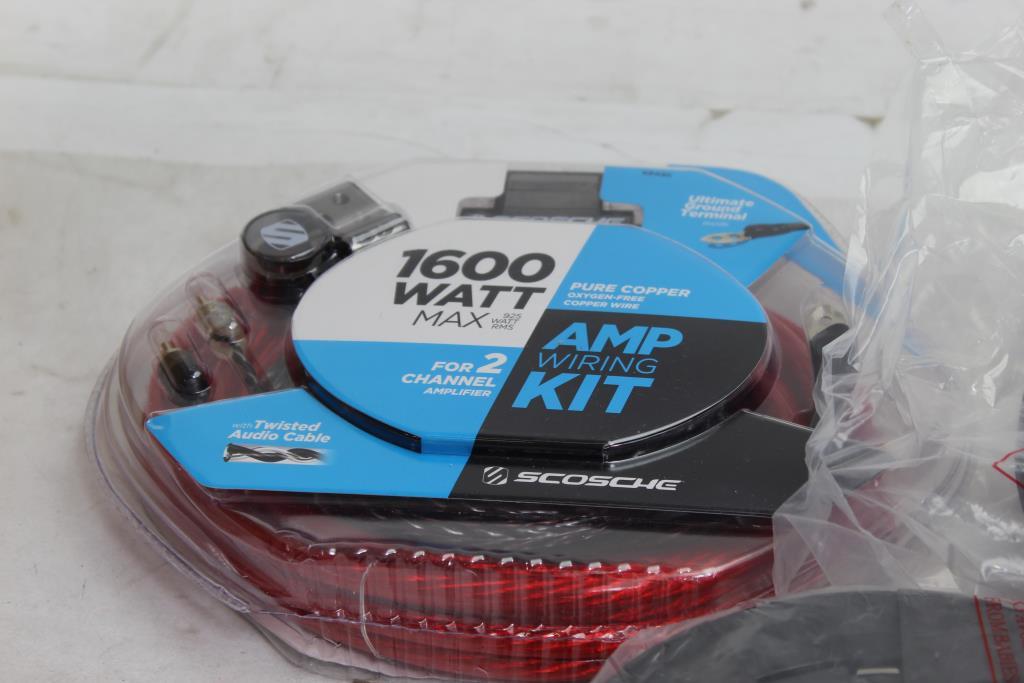 Scosche Subwoofer Wiring Kit - WIRE Center •